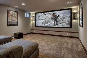 Basement Home Theater Ideas  Diy  Small Spaces  Budget  Medium  Inspiration  Moldings  House