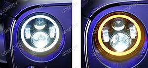 Jeep Wrangler Cj 40w High Power Cree 7 Inch Round Led Headlights