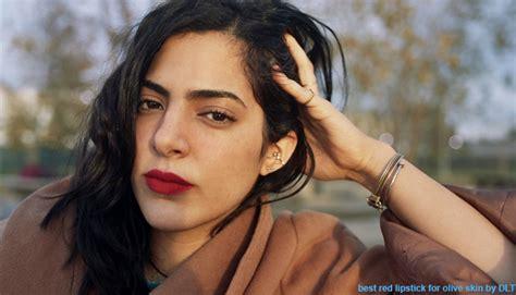 14 Best Red Lipsticks For Olive Skin Tone Women