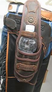 Bottle, Holder, For, Saddle, And, Belt, Made, Waterprrof, Leather