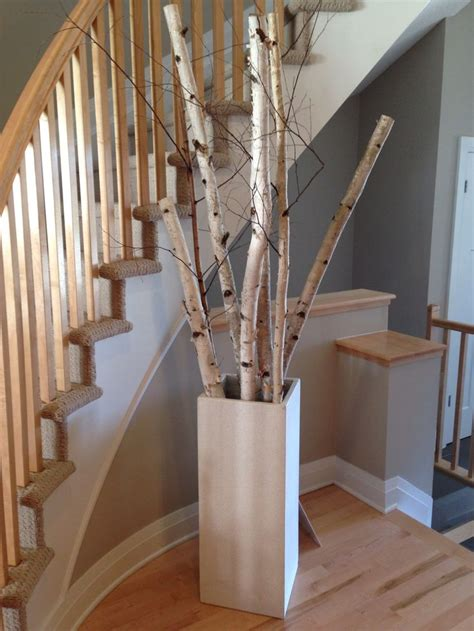 home decor for interesting grouping of birch tree branches for the