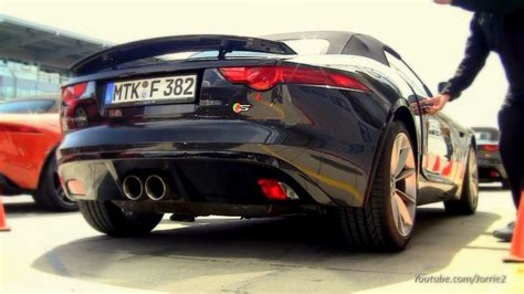 Jaguar F Type Sound by 2014 Jaguar F Type S Sound 1080p Hd