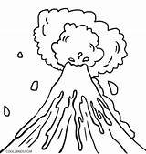 Volcano Drawing Coloring Eruption Pages Printable Volcanoes Sheets Cool2bkids Taal Shield Cartoon Template Crafts Dinosaur Sketch Kid Natural Getdrawings Tornado sketch template