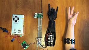 3d Printed Controllable Prosthetic Hand Via Emg
