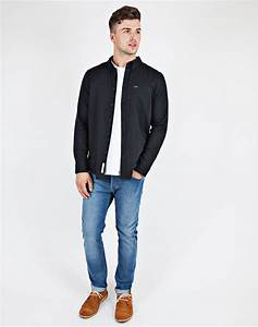 Lyst - Lee Jeans Button Down Shirt in Black for Men