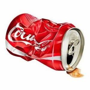 Crushed Soda Can Clipart - ClipartXtras