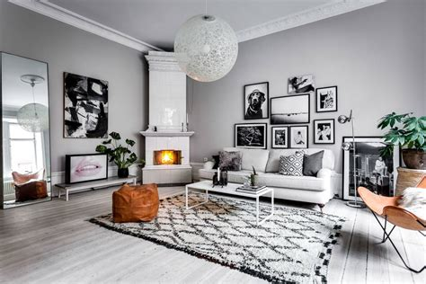 key characteristics   scandinavian living room