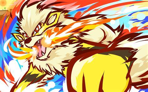 ishmam, Arcanine, Pokémon, Shiny Arcanine Wallpapers HD ...