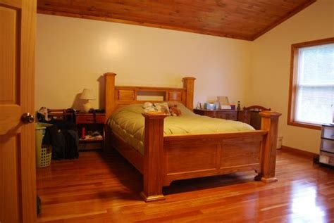 handmade  post bed  larue woodworking custommadecom