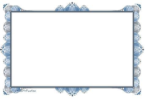 templates  certificate border artwork