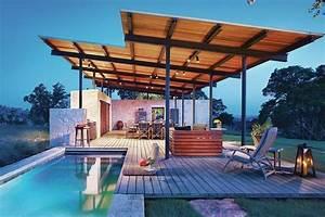 8 5 Bathroom Design Outdoor Pool Pavilion In Texas Custom Home Magazine
