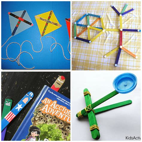 30 popsicle stick crafts for from abcs to acts 462 | craft stick crafts for kids