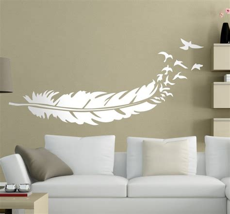 sticker plume oiseaux tenstickers