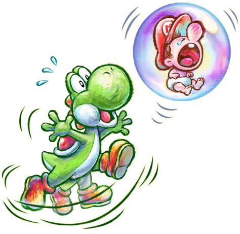 Baby Mario And Yoshi Yoshis New Island Mario Characters