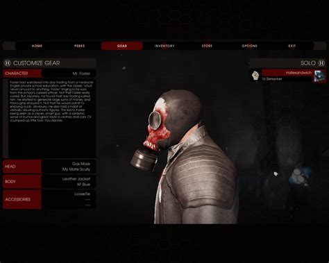 killing floor 2 zed skins zed time foster mask killing floor 2 skin mods
