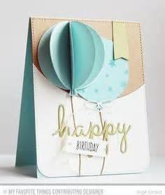 Plektrum Selber Machen : basteln mit papier karten selber machen diy karten basteln sch ne originelle ideen ballons ~ Orissabook.com Haus und Dekorationen