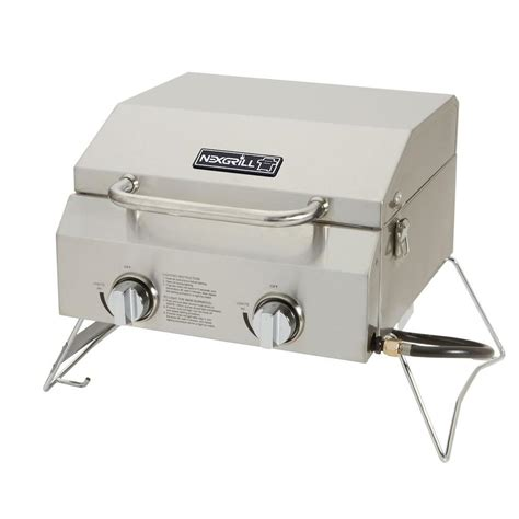 table top griddle propane nexgrill 2 burner portable propane gas table top grill in