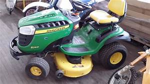John Deere Ride On Lawn Mower - Model S