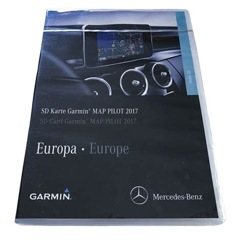Sometimes, virus attack or malware may encrypt or. New Garmin Map Pilot Latest 2017 SD Card Mercedes V Class ...