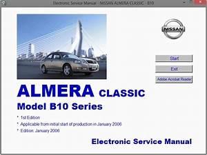 Nissan Almera Classic  B10  Service Manual    Repair Manual