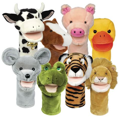 Puppet Images Bigmouth Animal Puppets