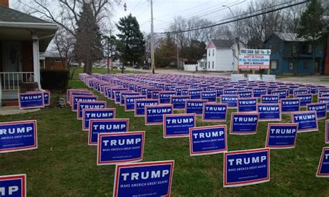 Image result for trump sinage small towns