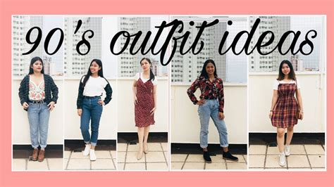90u2019s Outfit Ideas #OOTD - YouTube