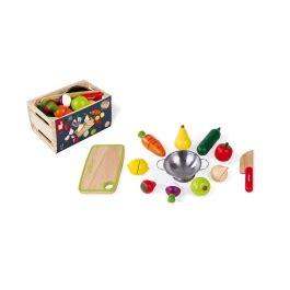 Maxi Set Fruits et Légumes à découper Green Market Janod