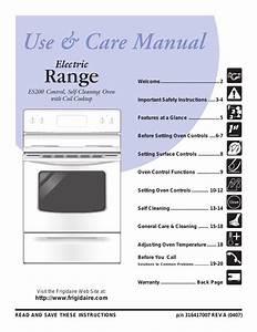 Frigidaire Es200 User Manual