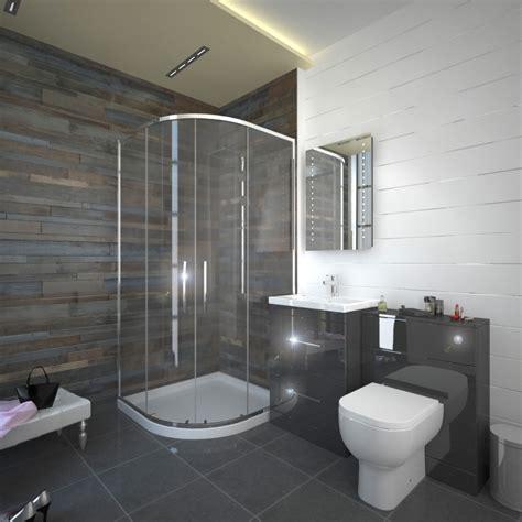 patello grey  quadrent shower suite buy