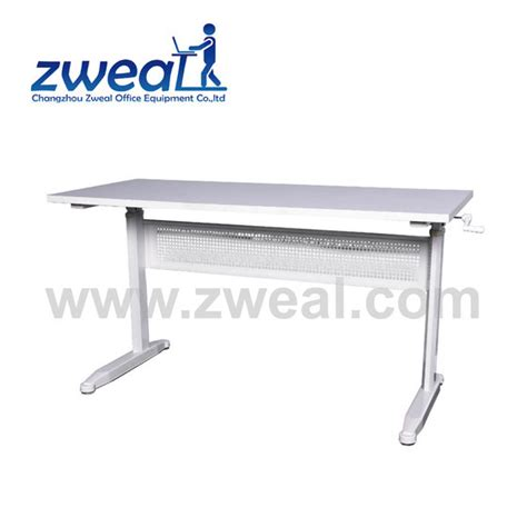 up and down desk manual ergonomic adjustable up and down office workstation