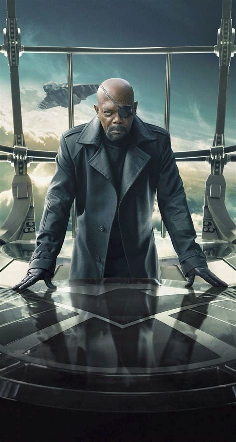 nick fury    parallax wallpapers