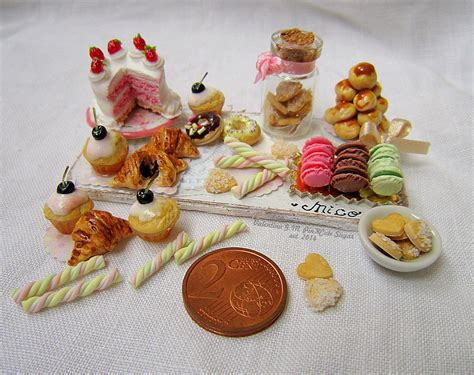cuisine miniature daily mini pink sugar miniatures
