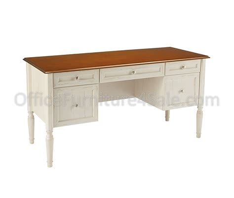 antique white desk realspace outlet shore collection executive