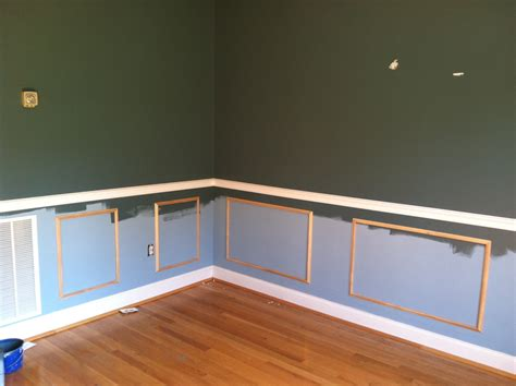 room stylist diy project wainscoting chair rail
