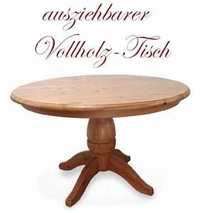 Küchentisch Rund Ausziehbar : bezaubernder tisch ausziehbar massivholz k chentisch rund bauerntisch vollholz ~ Watch28wear.com Haus und Dekorationen