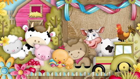Baby Farm Animals Wallpaper - farm animals wallpapers wallpaper cave