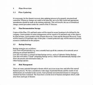 13 disaster recovery plan templates free sample With disaster recovery communication plan template