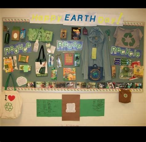 earth day bulletin boards school library displays