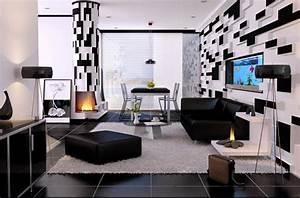 deco maison noir et blanc With deco en noir et blanc