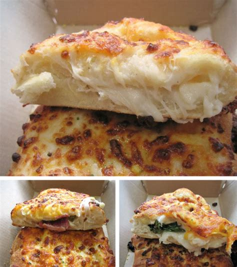 Chain Reaction Domino's Stuffed Cheesy Bread  Serious Eats