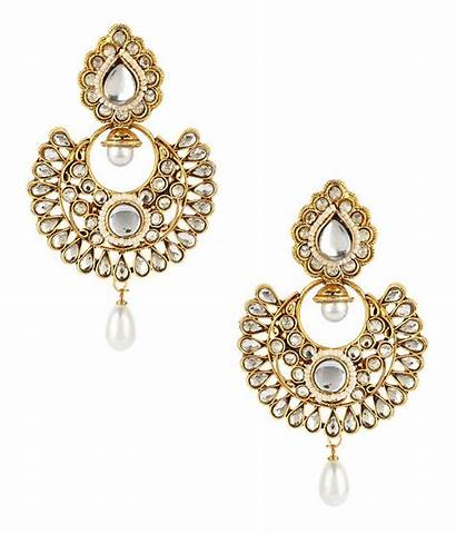 Kundan Earrings Fashionable Jewels Galaxy