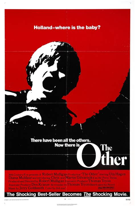Poster For The Other (1972, Usa)  Wrong Side Of The Art