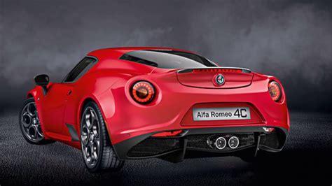 2017 New Alfa Romeo 4c Youtube