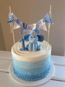baby shower centerpieces boys best 25 baby elephant cake ideas on
