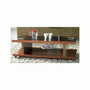 Table Basse Sur Roulette : table basse design sur roulettes magasin du meuble ~ Melissatoandfro.com Idées de Décoration