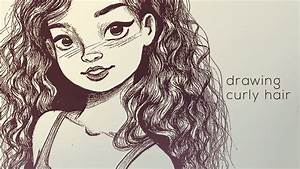 Wavy Hair Drawing - Hairs Picture Gallery