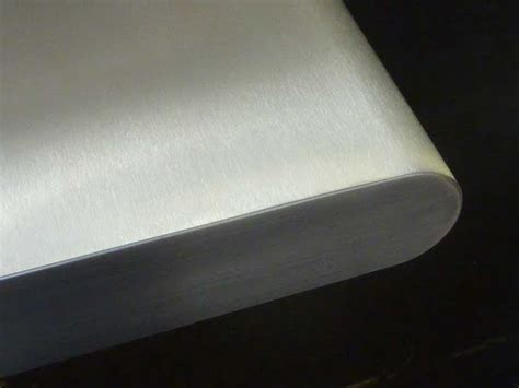 Stainless Steel for the Bullnosed edged worktops Sector