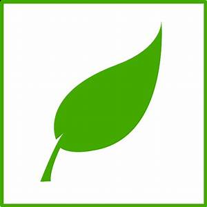 Green Leaf Icon - Cliparts.co