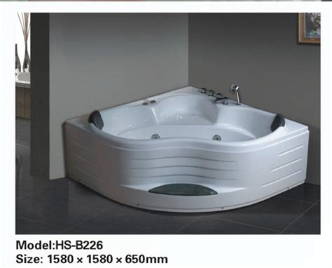 Whirlpool Bathtubs On Sale by Corner Jetted Bathtub For 2 Person B226 Sale Best